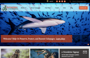 Galapagos-conservancy donation software