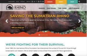 Intl-Rhino-Foundation donation site