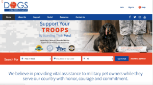 dogs-on-deployment donation sites
