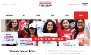 everytown-for-gun-safety donate site