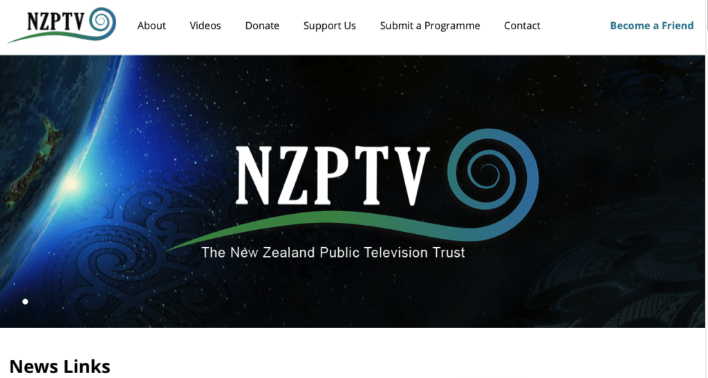 new-zealand Donation website