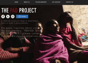 the-pad-project - Great nonprofit website