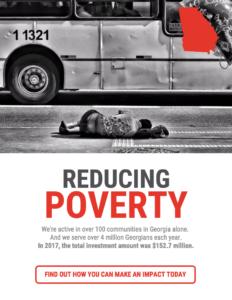 nonprofit infographic - saving poverty
