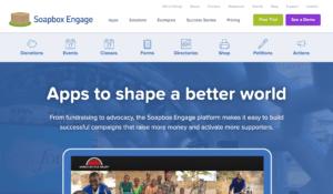 soapbox - online donation