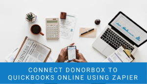 Donorbox to Quickbooks Online