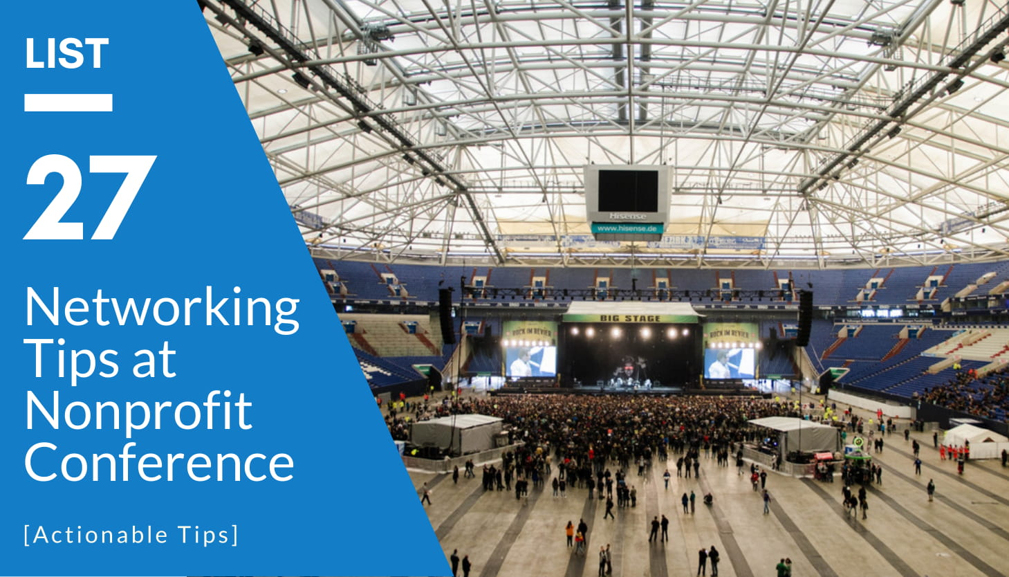 How to Get the Most Out of a Nonprofit Conference   27 Conference Tips