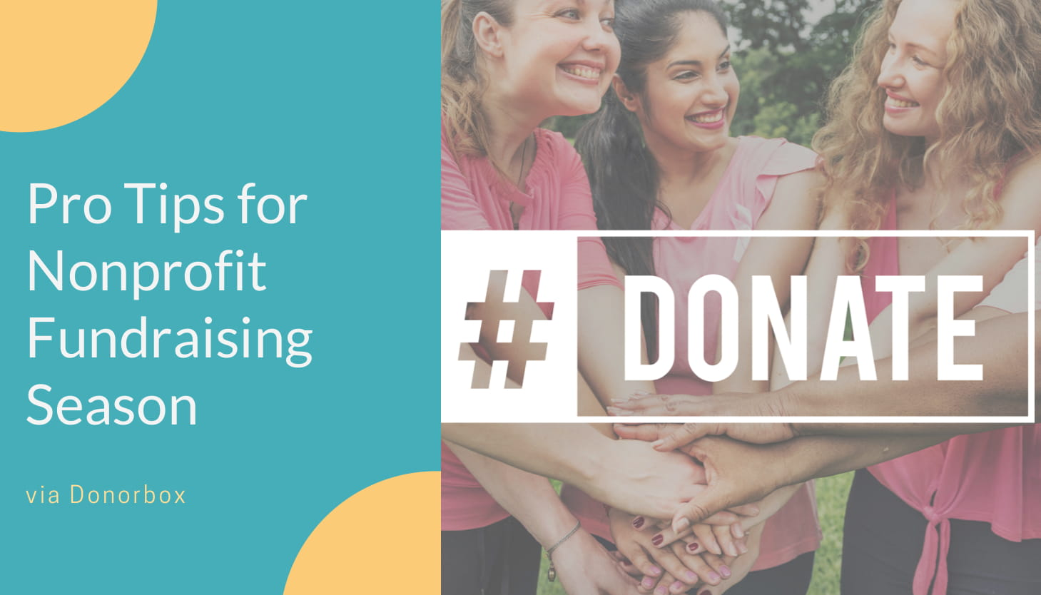 5 Helpful Tips for Getting the Most Out of Nonprofit Fundraising Season