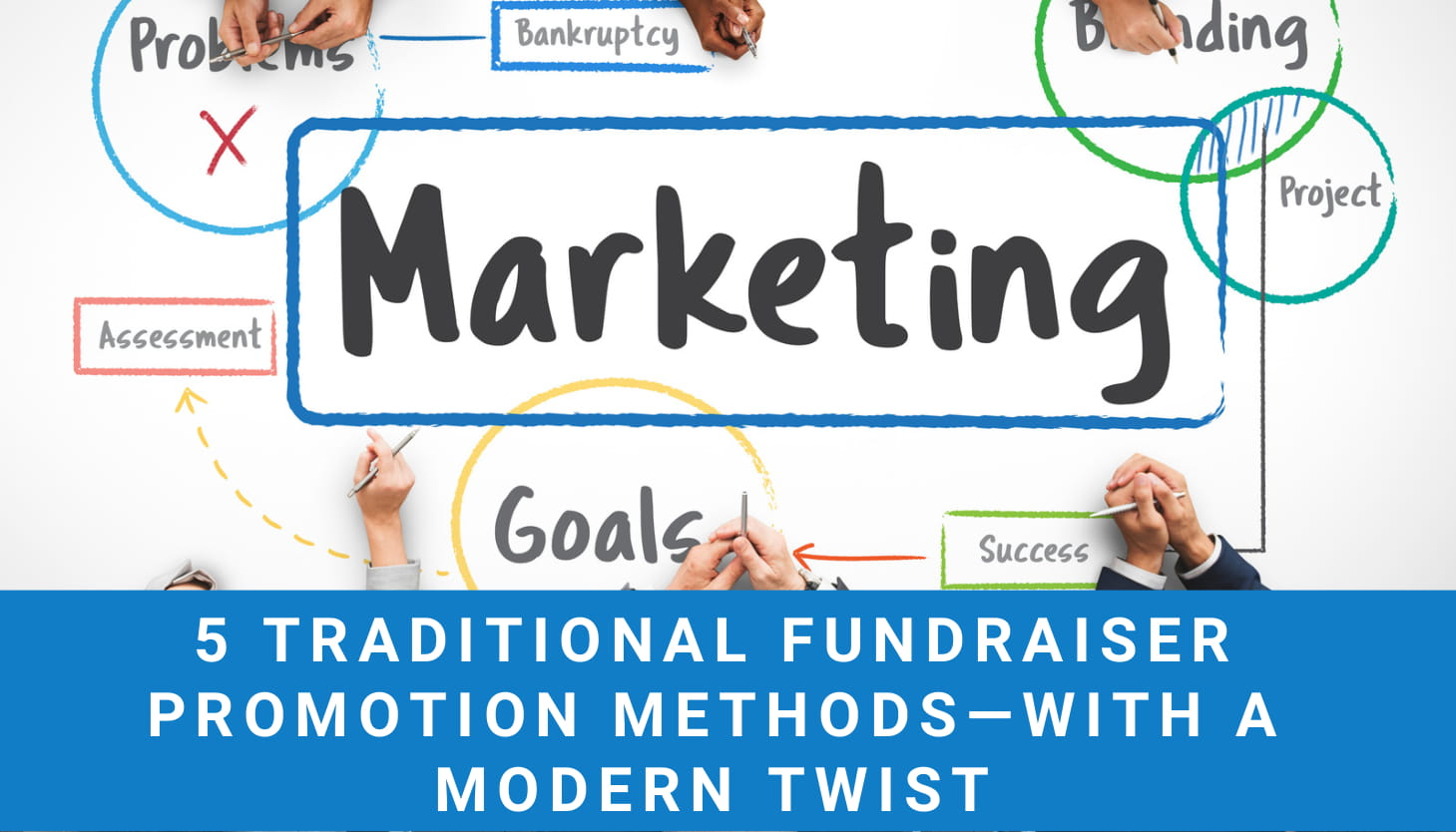 5 Traditional Fundraiser Marketing Methods – With a Modern Twist