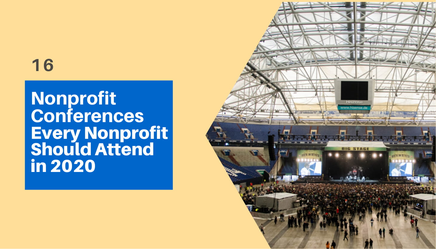 16 Nonprofit Conferences Every Nonprofit Should Attend in 2020