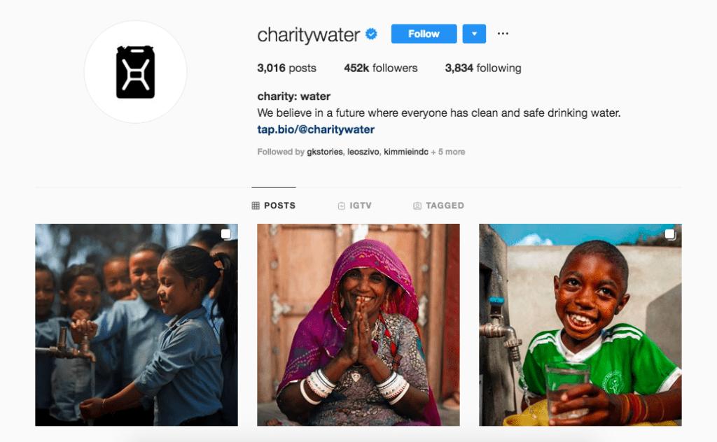 instagram campaign nonprofits