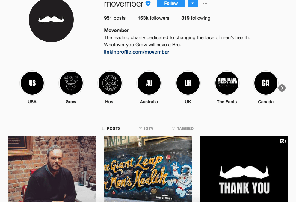 instagram for nonprofits