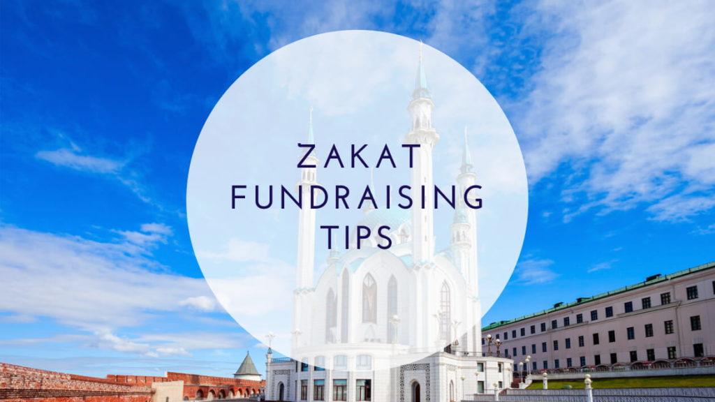 zakat fundraising tips