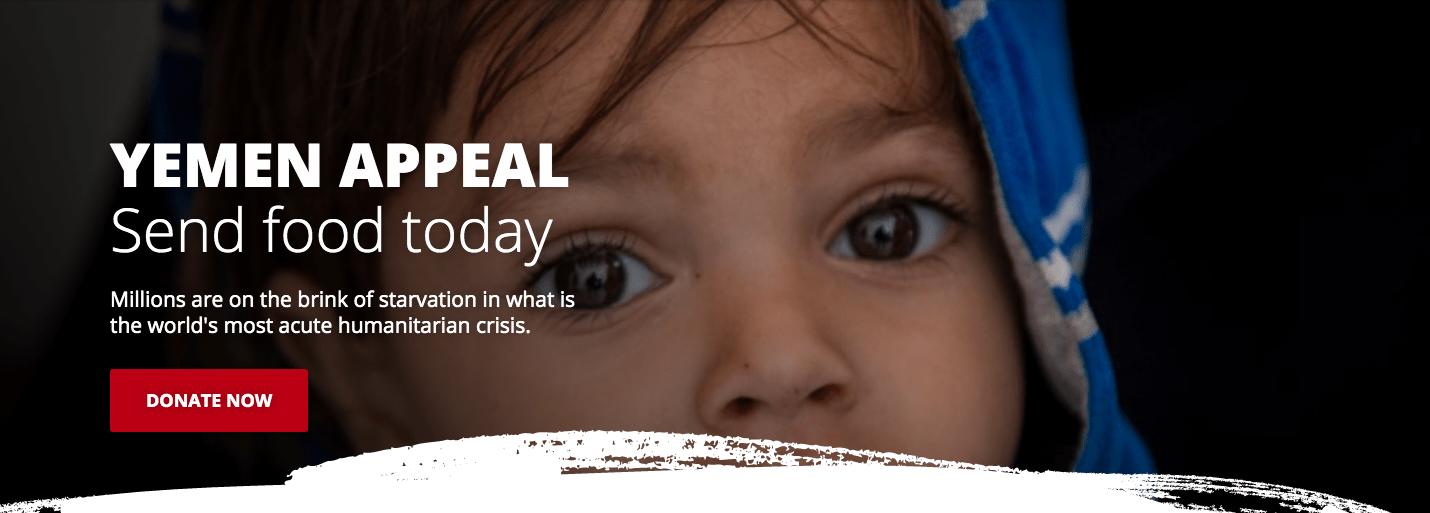 urgent fundraising appeal