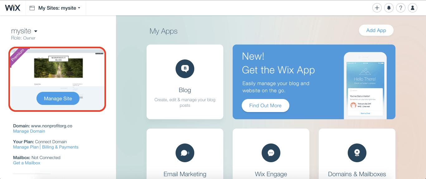 wix website ssl