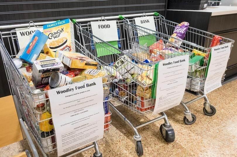 food bank fundraising