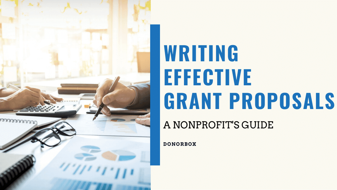 writing effective grant proposal