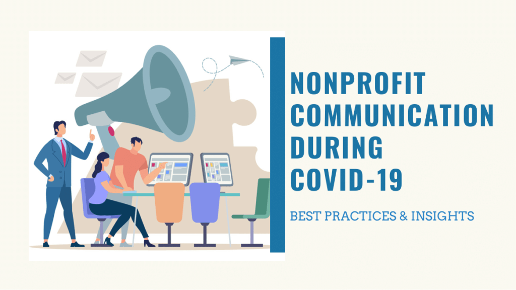 nonprofit communication in covid-19