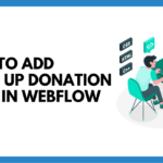webflow donations