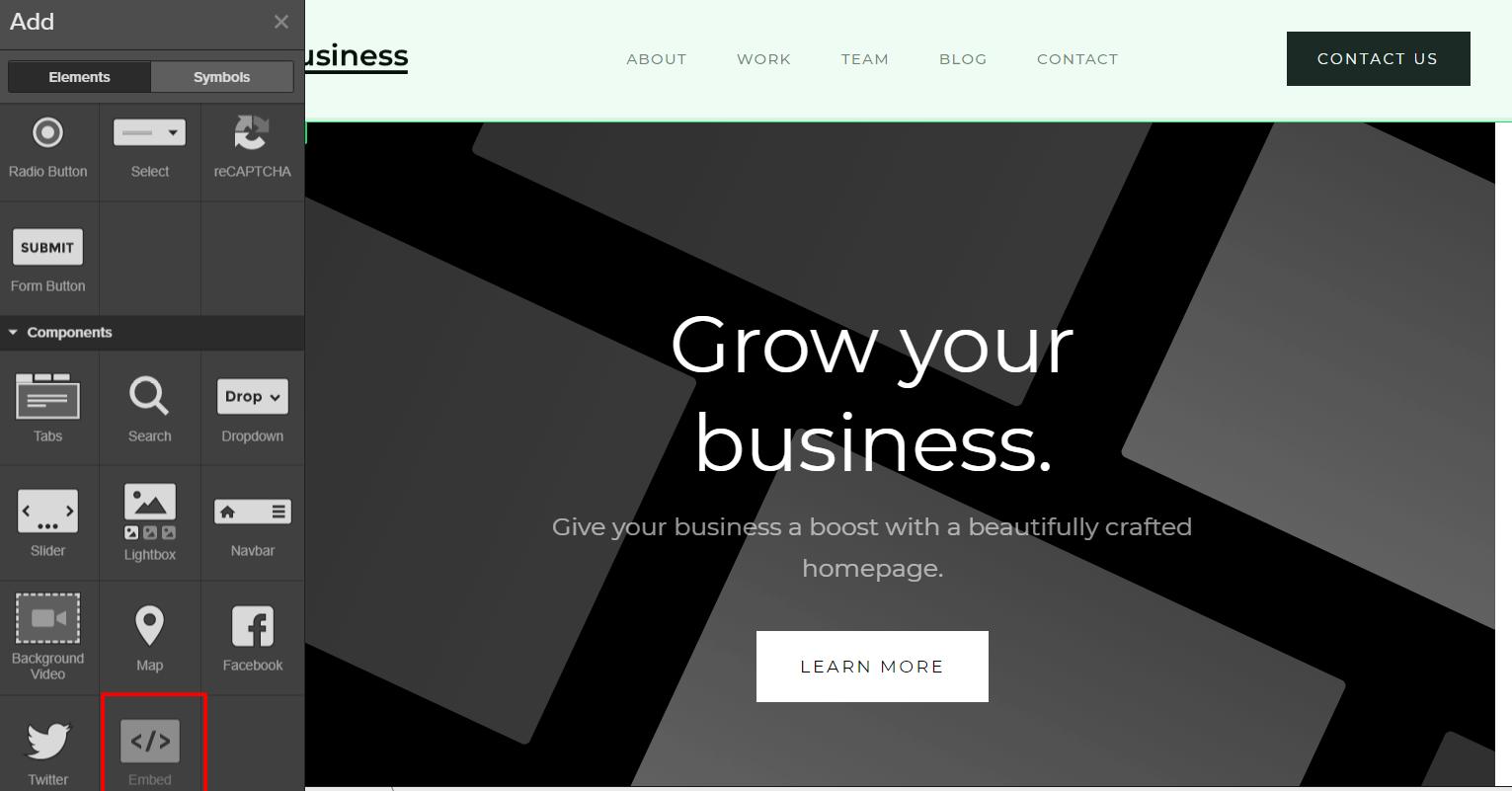 donations on webflow