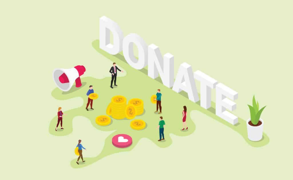 text fundraising