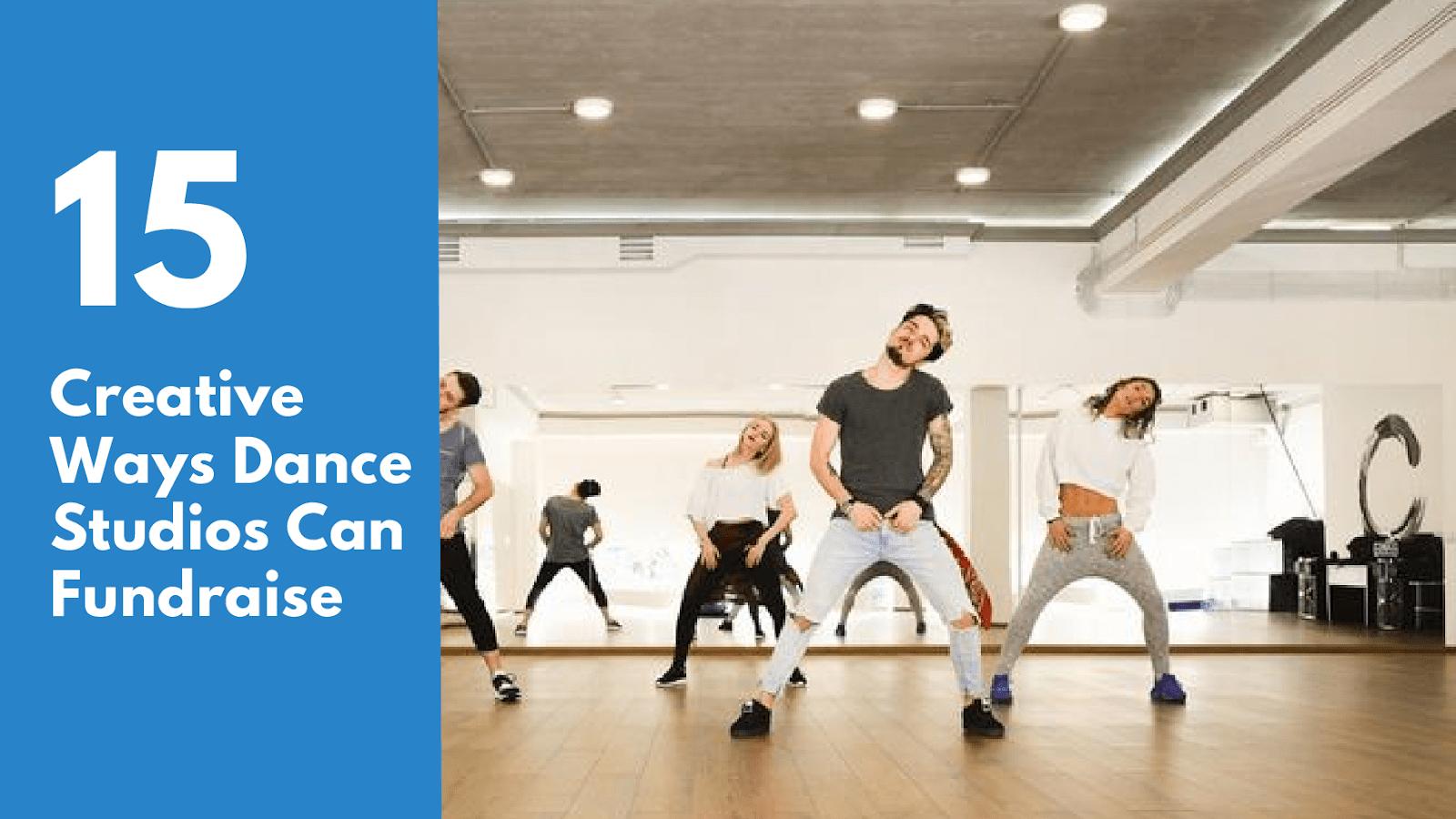 fundraising for dance studios