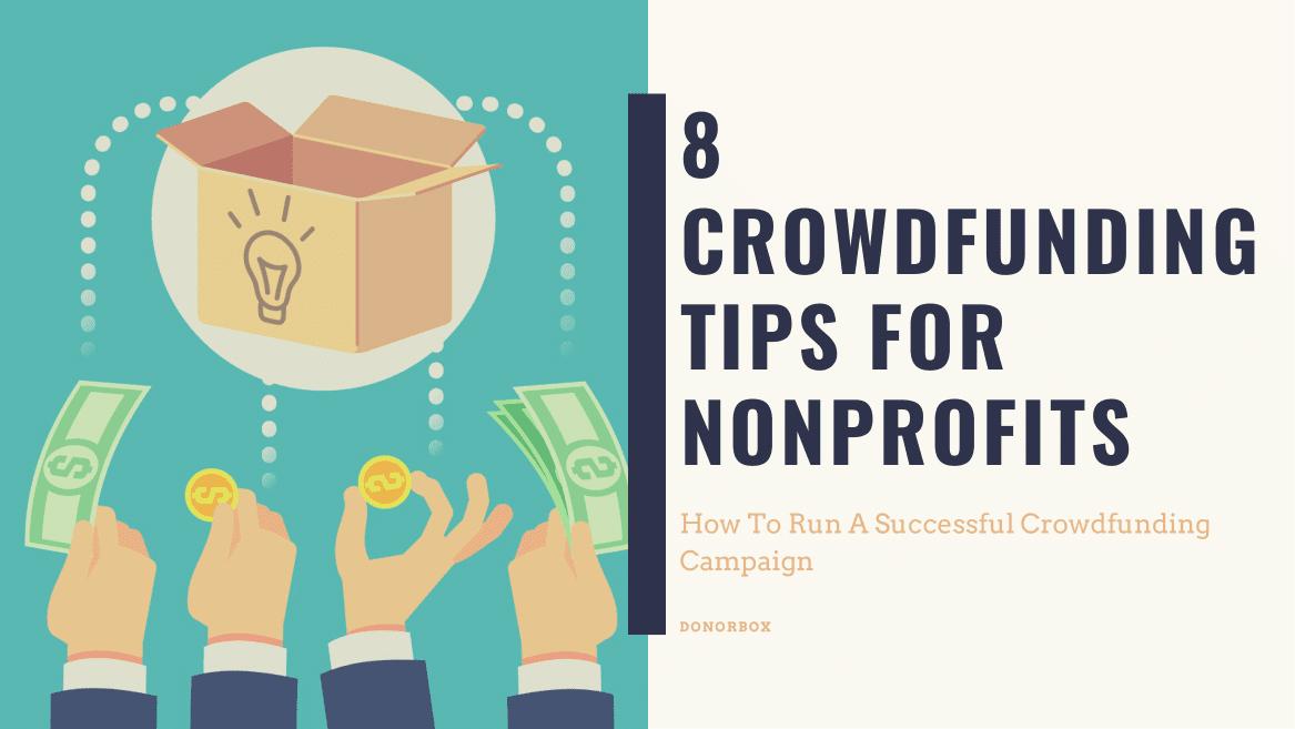 nonprofit crowdfunding tips