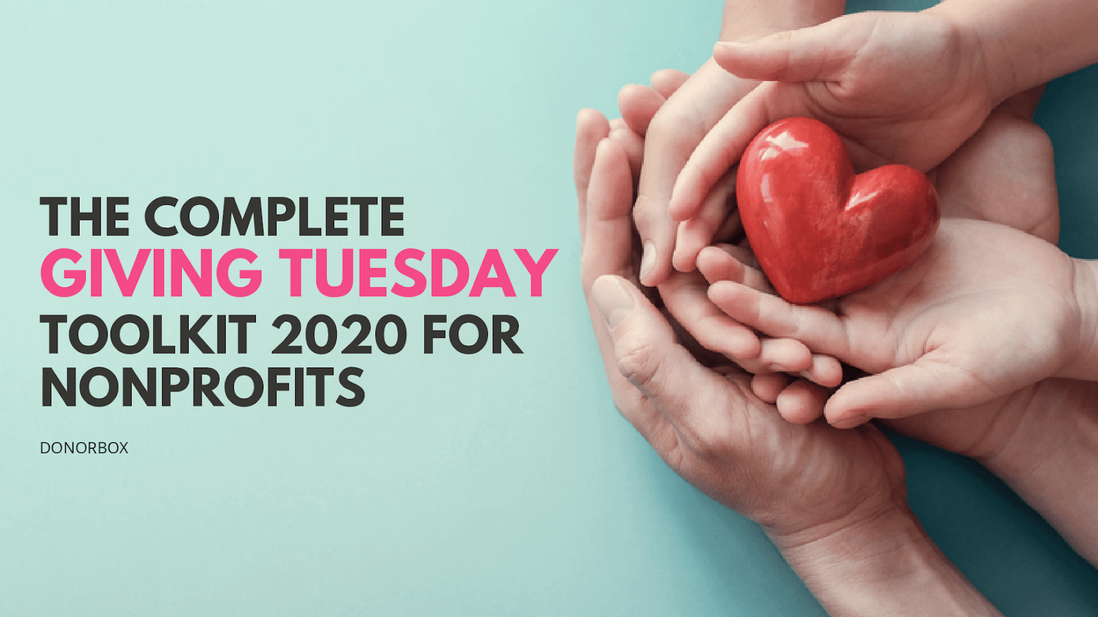 giving tuesday toolkit
