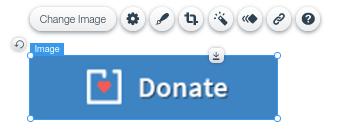 wix donate button
