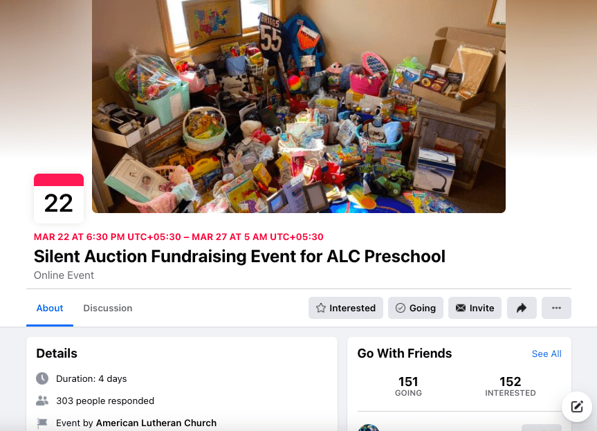how to run silent auction