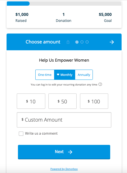 paypal recurring donations