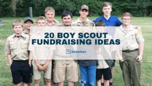 boy scout fundraising ideas