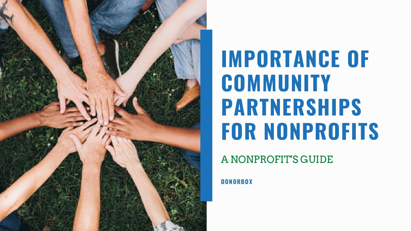 Importance of Community Partnerships for Nonprofits