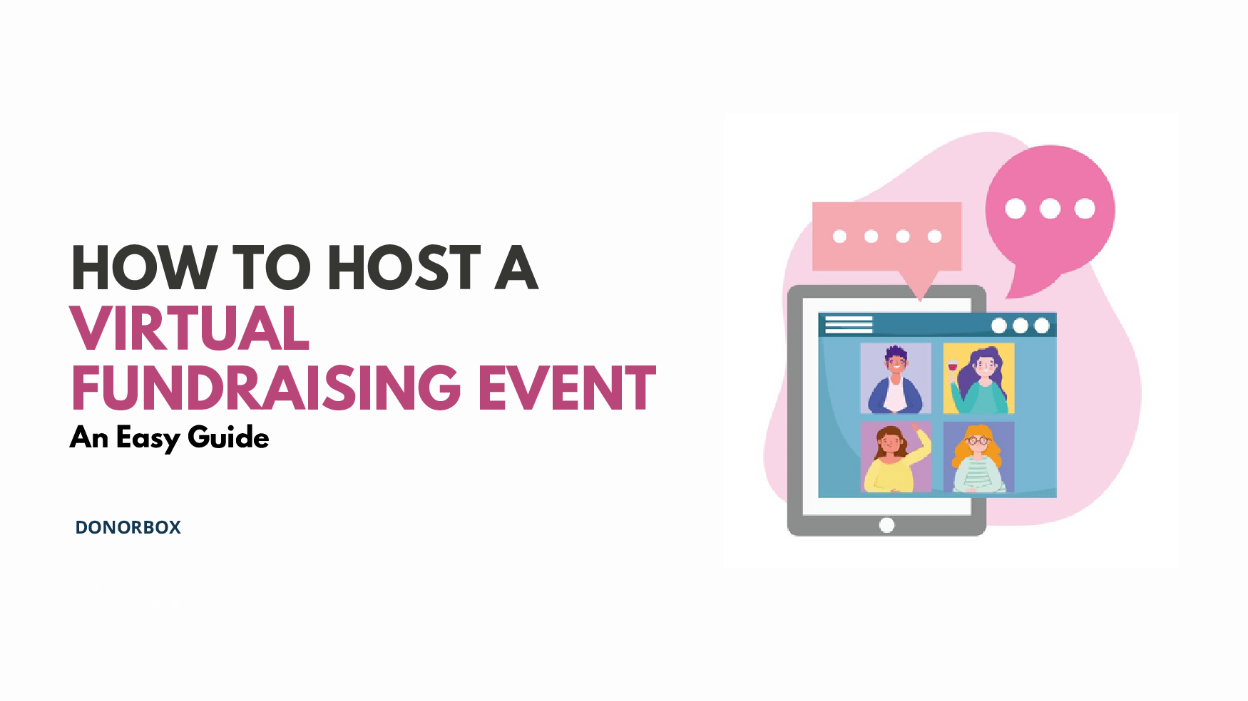 host a virtual fundraising event