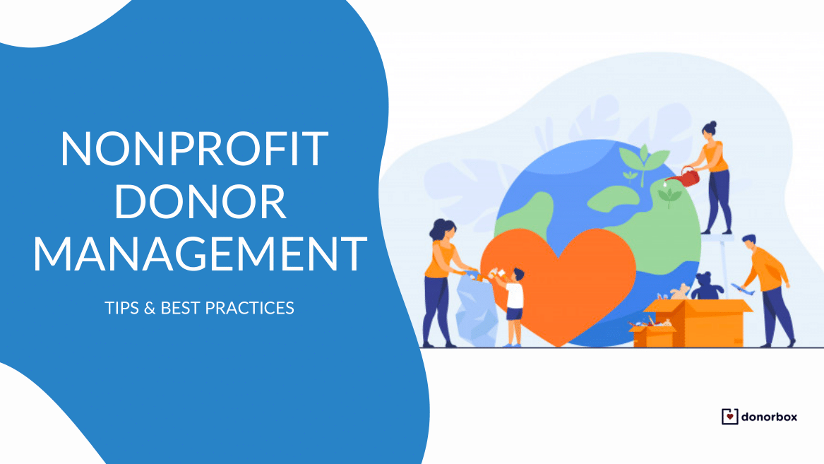 Nonprofit Donor Management