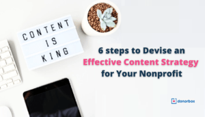 Content Strategy for Your Nonprofits