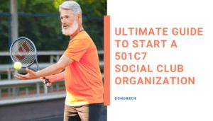 Starting a 501c7 Organization