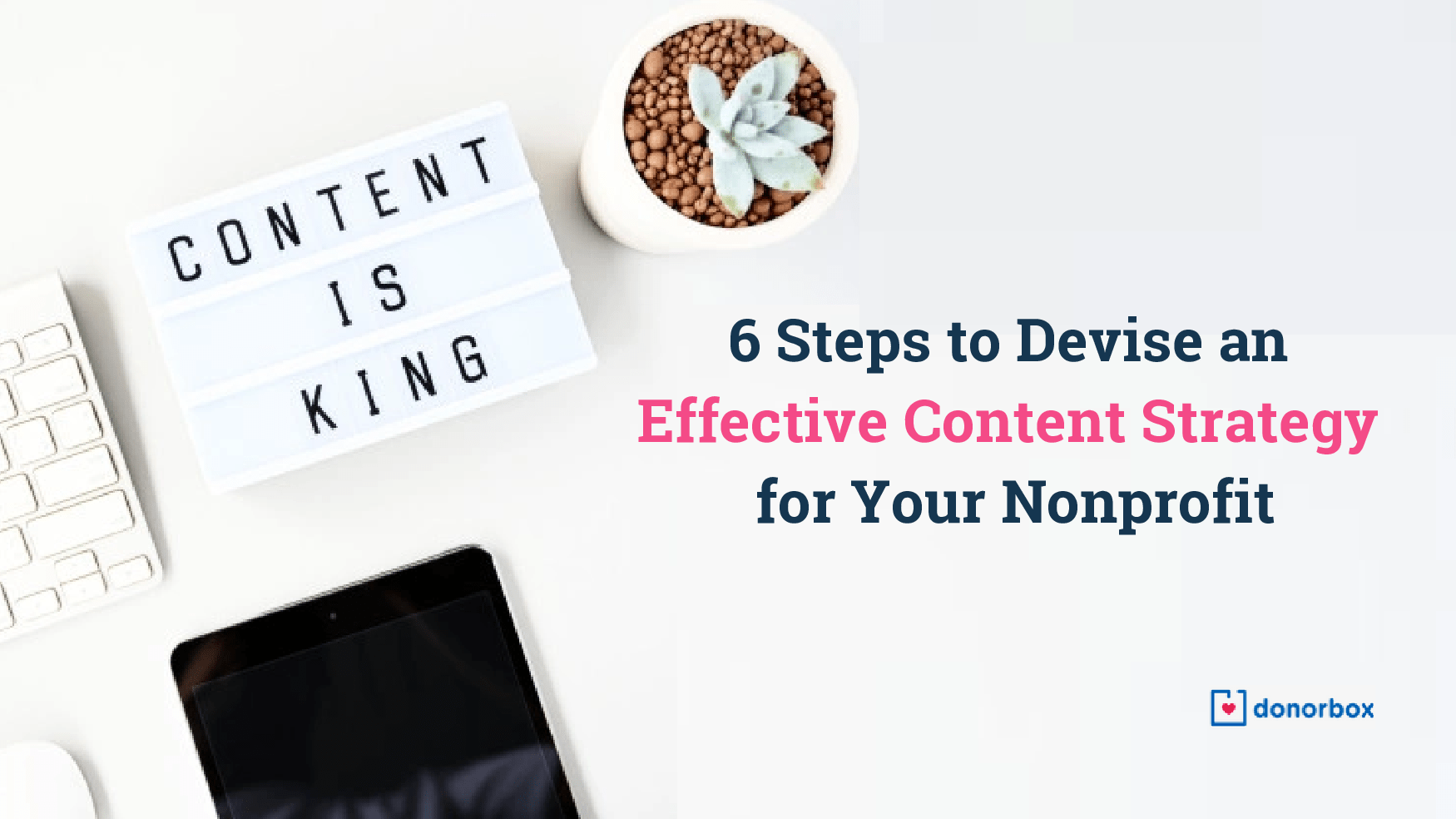 Content Strategy for Nonprofits