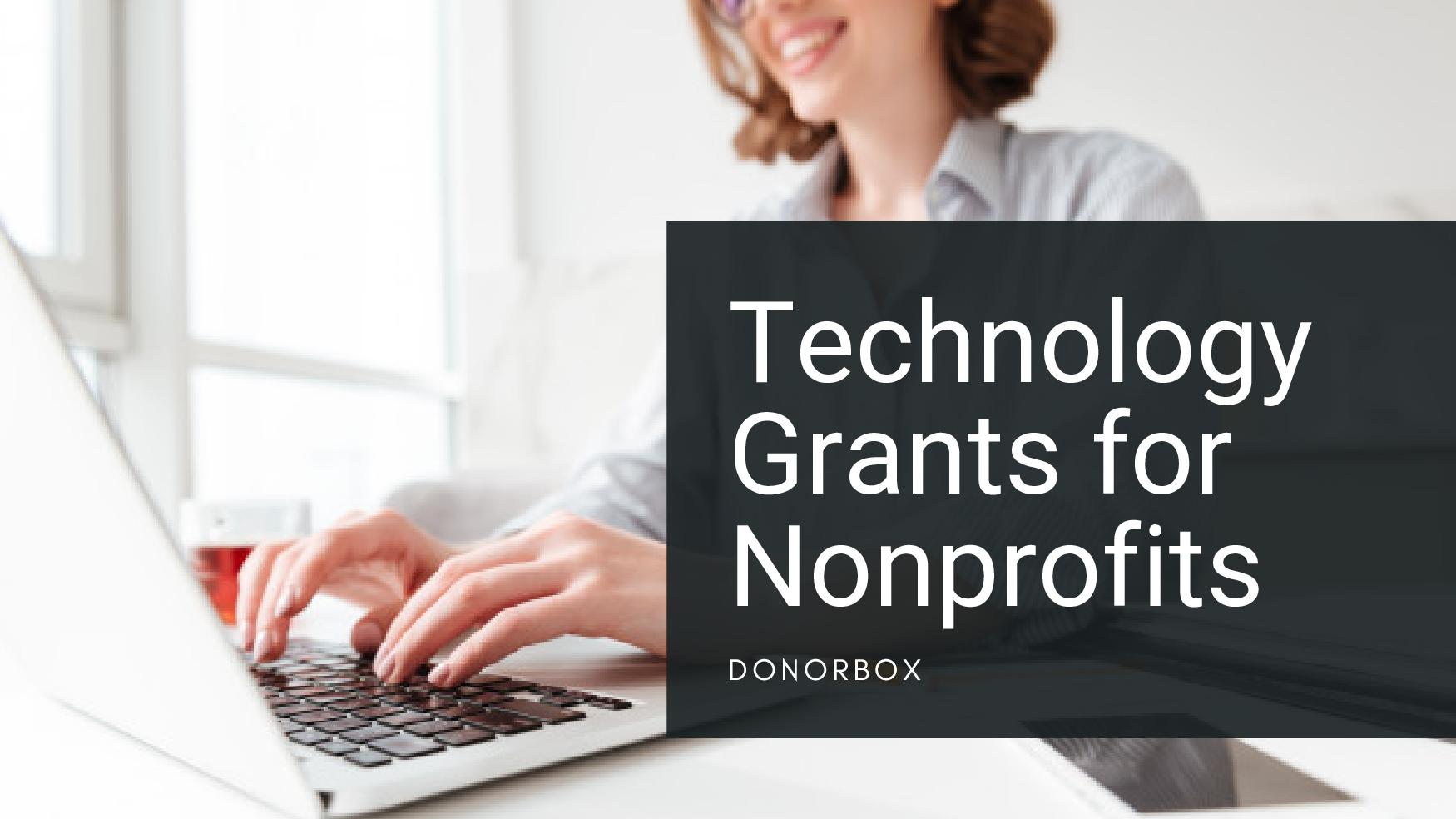 technology grants for nonprofits