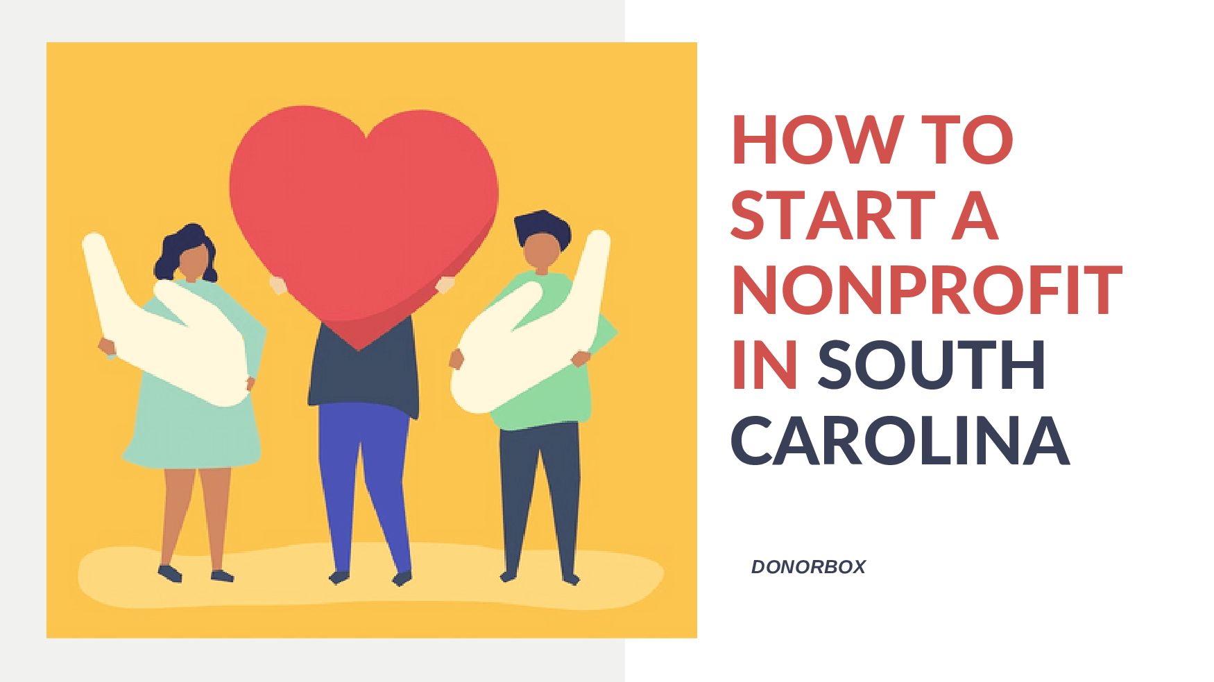 how to start a nonprofit in south carolina