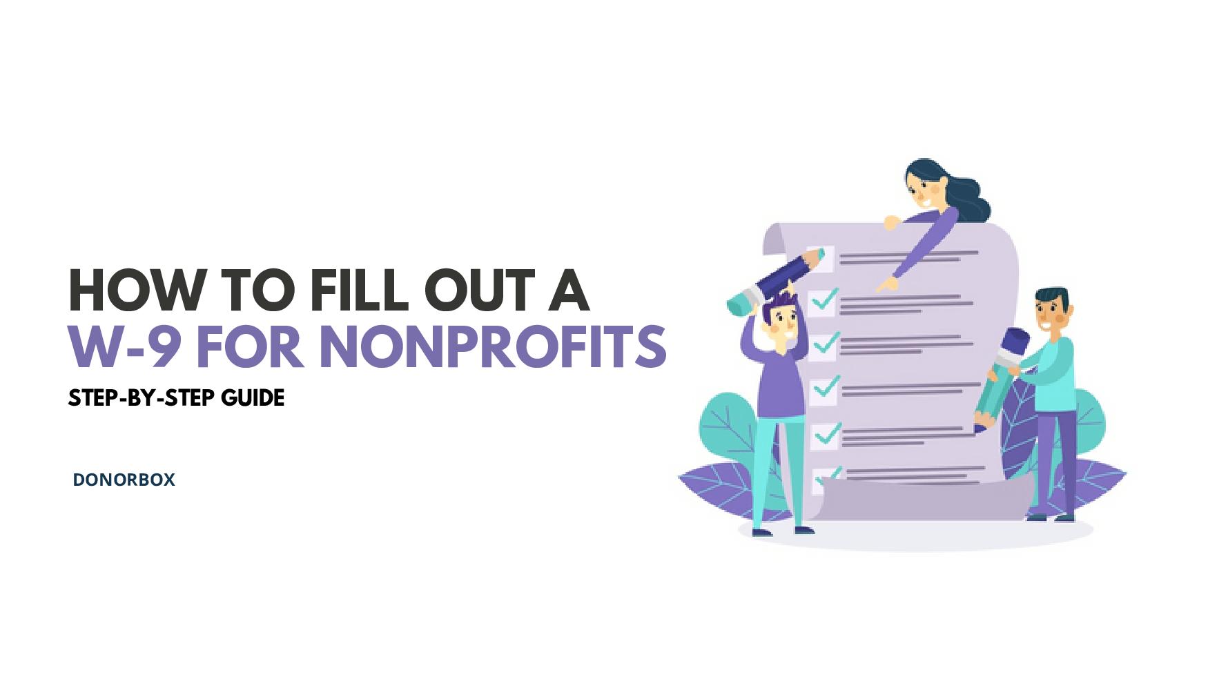 w-9 for nonprofits