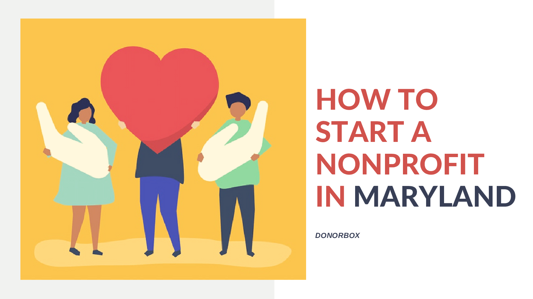 how to start a nonprofit in Maryland