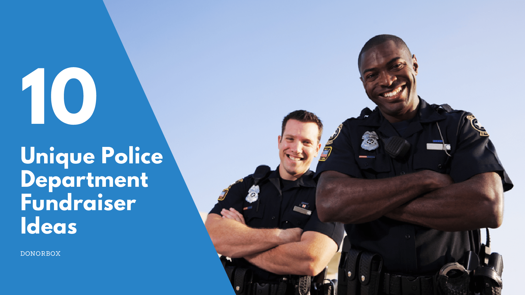 police department fundraiser