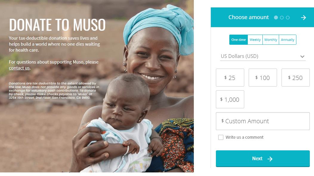 paypal donation alternative