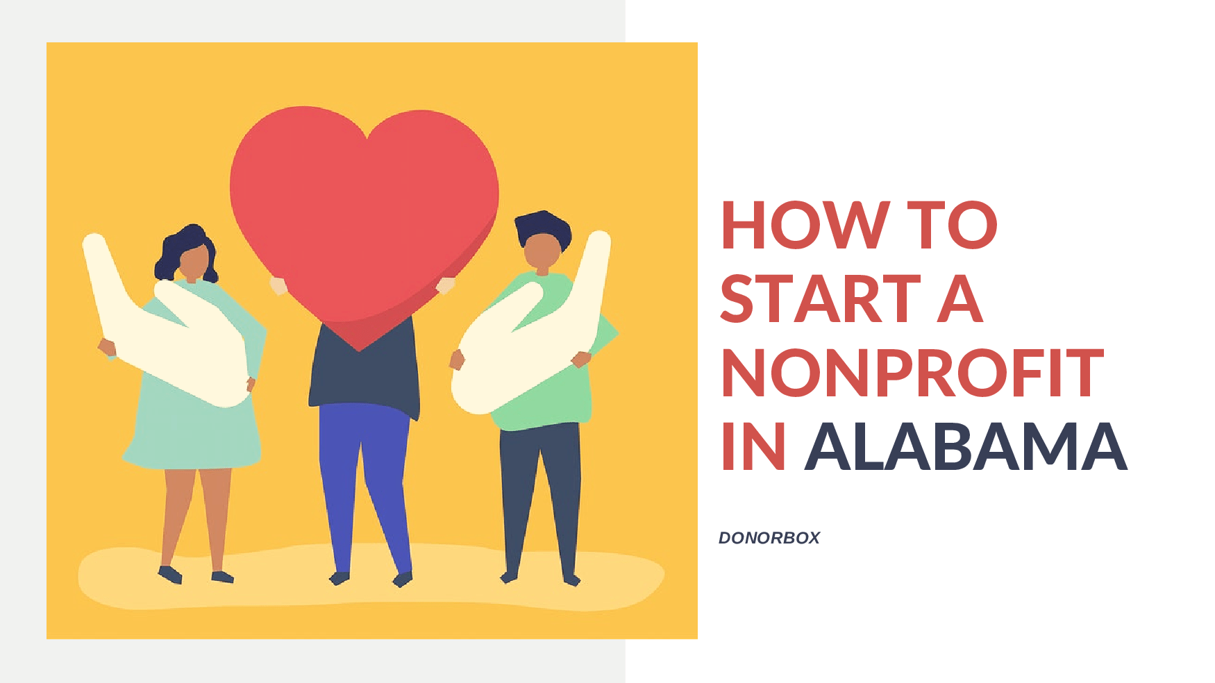 how to start a nonprofit in Alabama