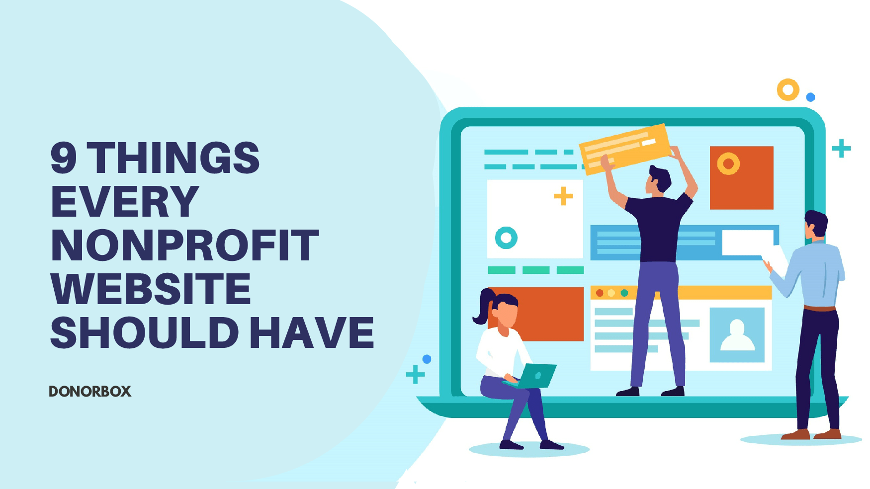 9 Things Every Nonprofit Website Should Have