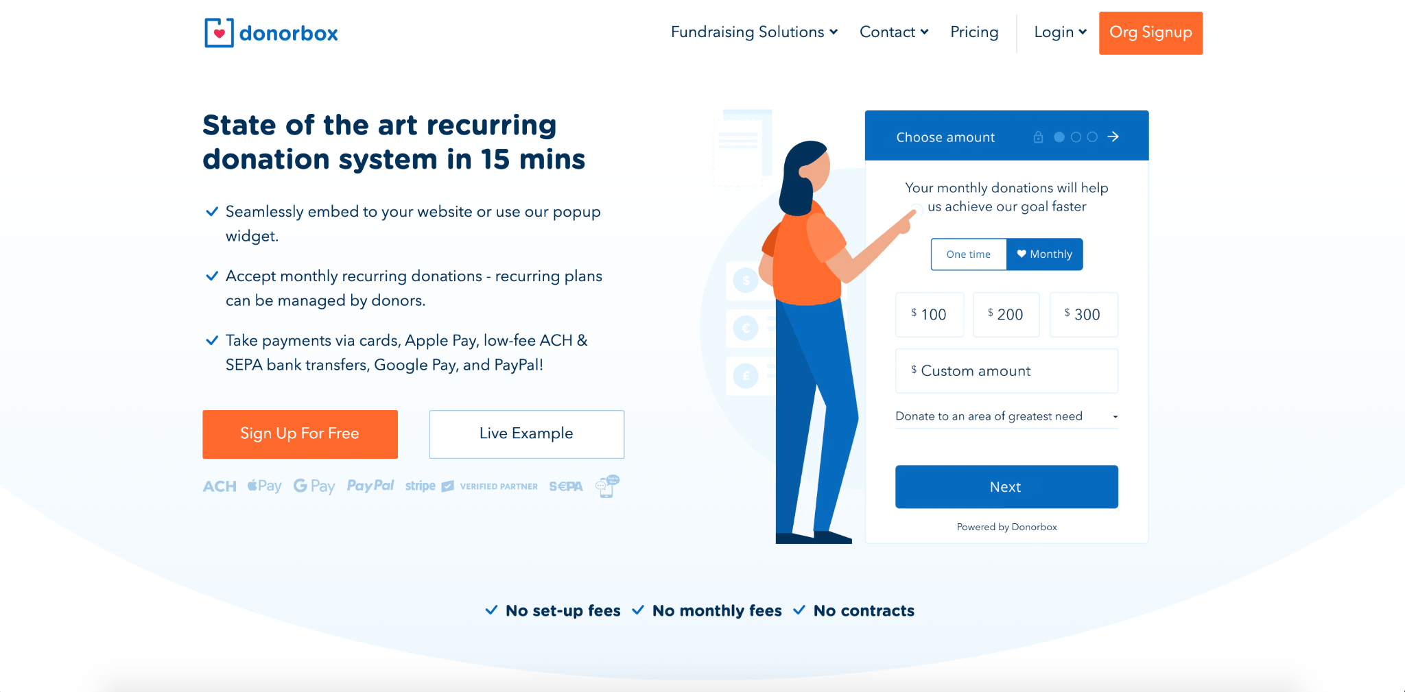 nonprofit donor management software