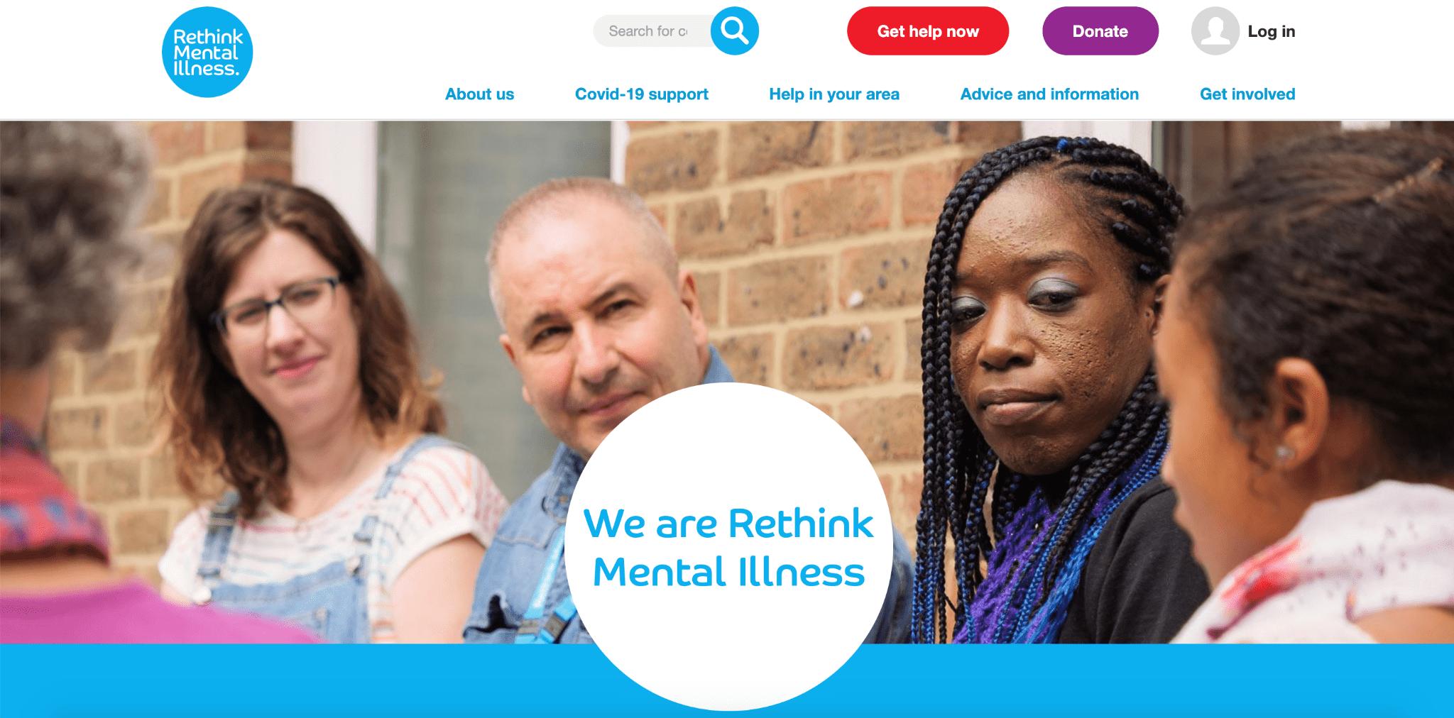 best mental health charities