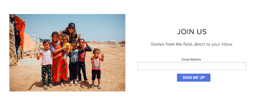 writing nonprofit website copy