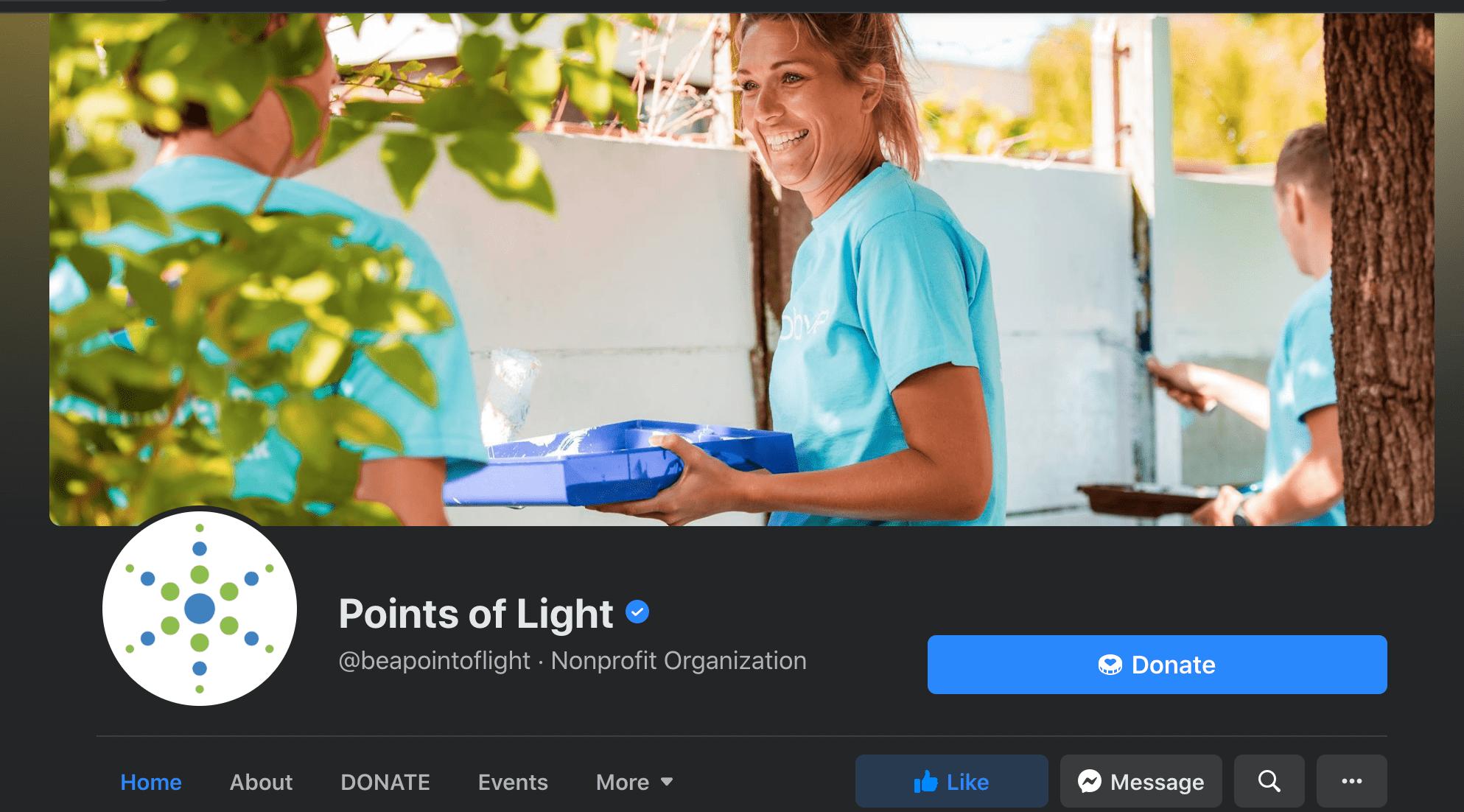 Fundraising websites