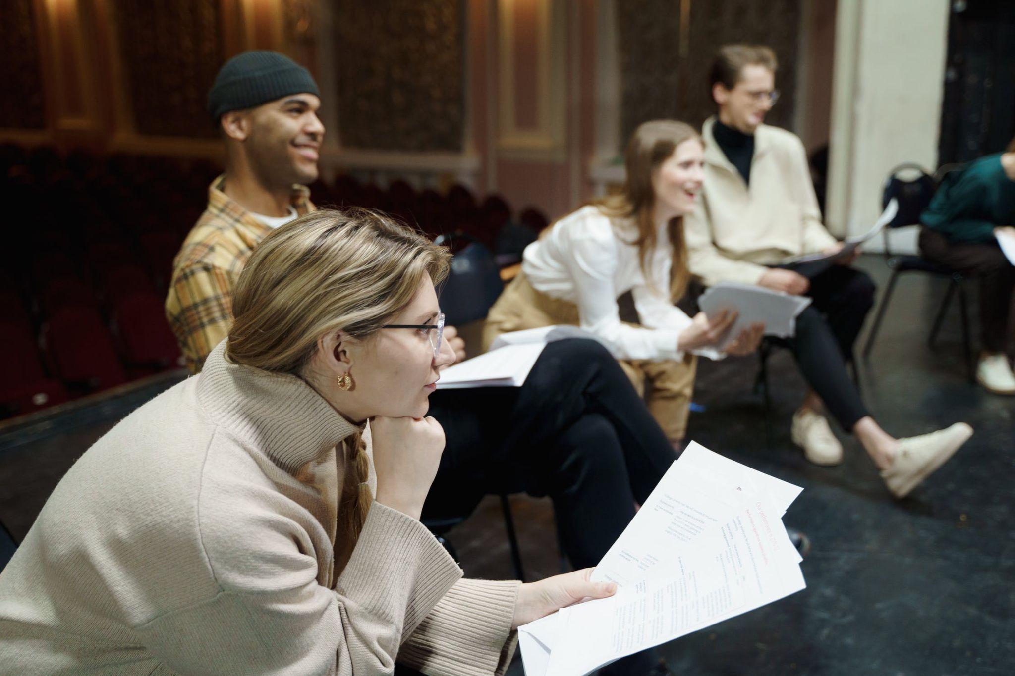 Theatre fundraising ideas